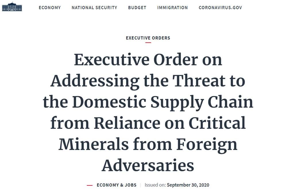 https://www.whitehouse.gov/presidential-actions/executive-order-addressing-threat-domestic-supply-chain-reliance-critical-minerals-foreign-adversaries/