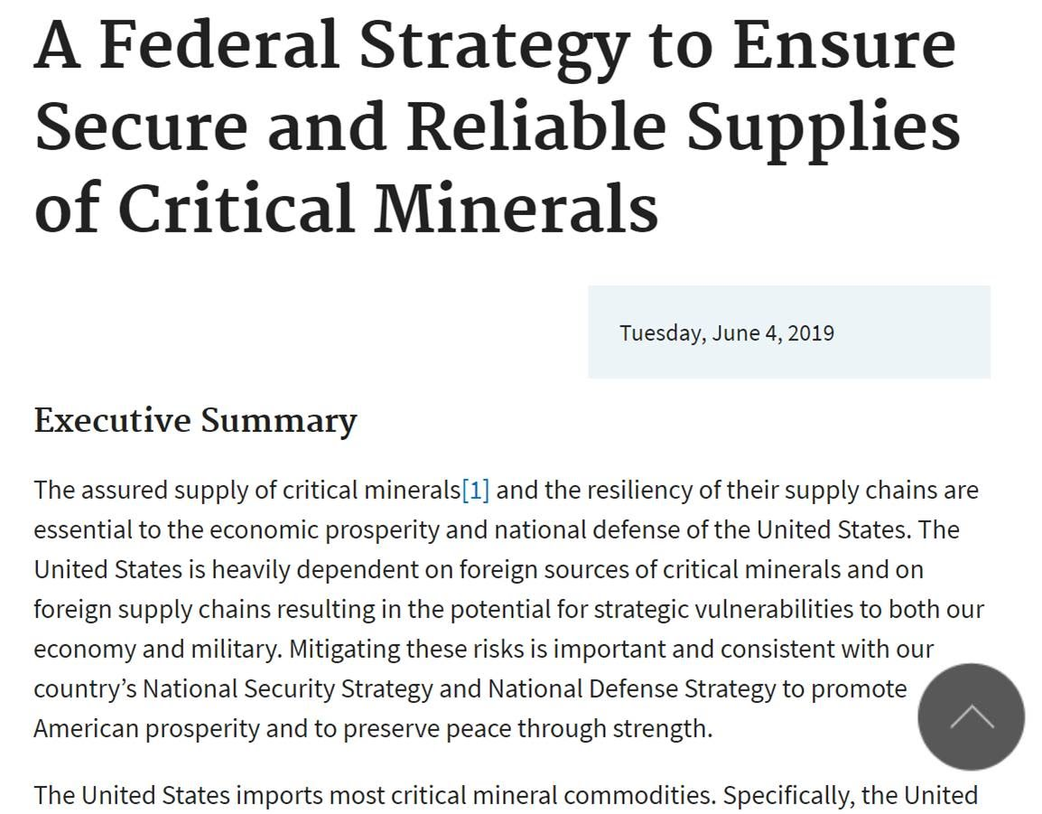 https://www.commerce.gov/news/reports/2019/06/federal-strategy-ensure-secure-and-reliable-supplies-critical-minerals